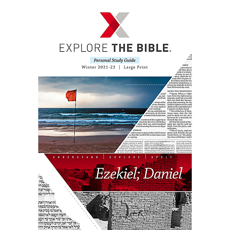 Explore the Bible: Adult Personal Study Guide Large Print - Winter 2022