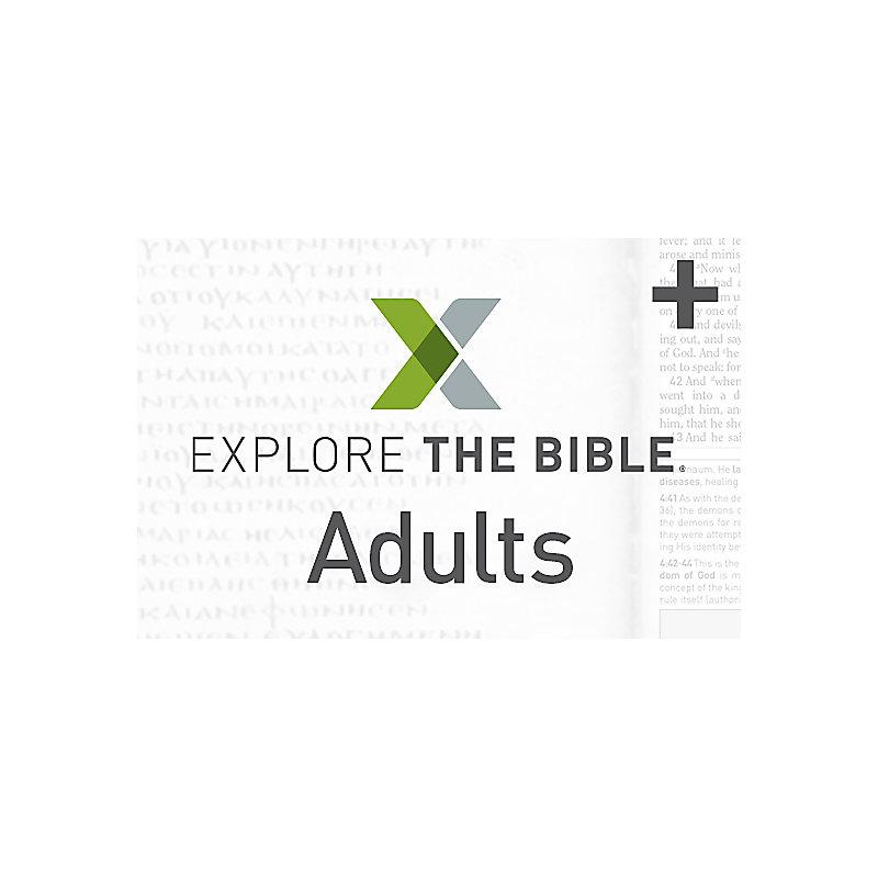 Explore the Bible: Adult - Plus