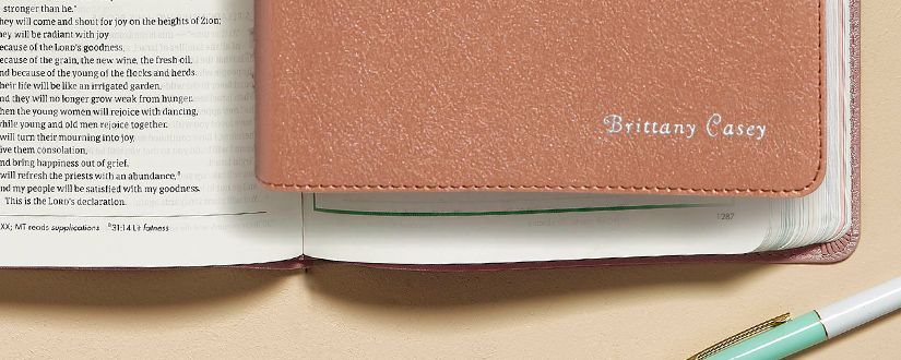Personalize a Bible for Mom