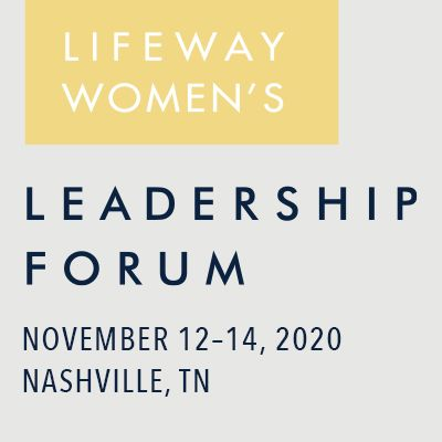 LifeWay Women's Leadership Forum Event