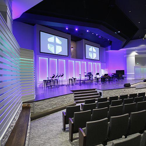 Church Aduio, Video and Lighting