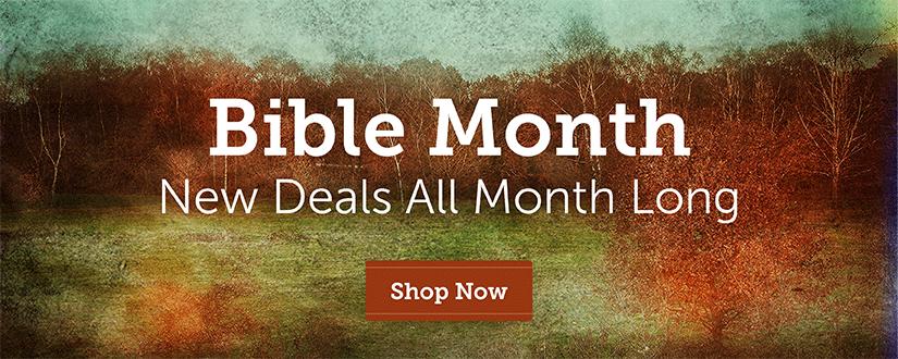 Bible Month Deals