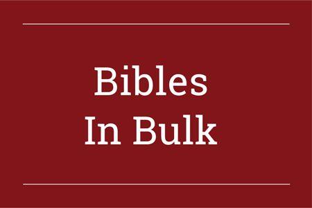 Bibles in Bulk