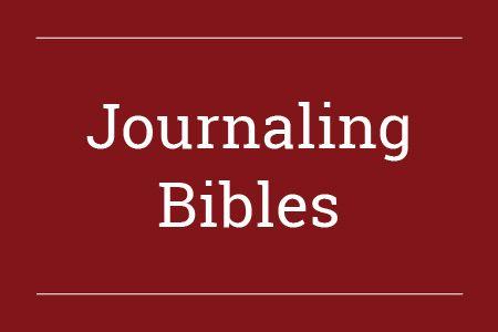 Journaling Bibles