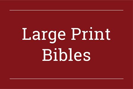 Large Print Bibles