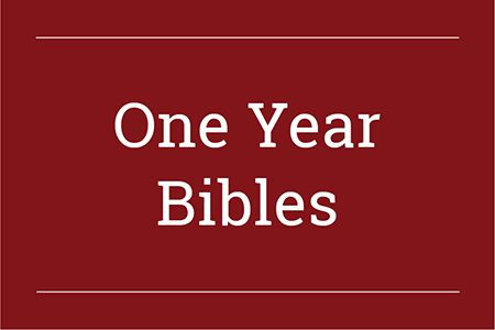One Year Bibles