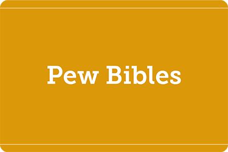 Pew Bibles