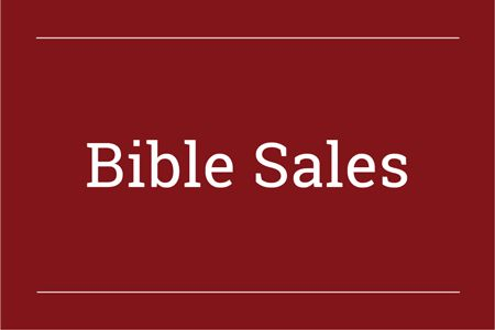 Bibles on Sale