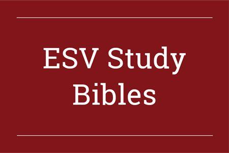 ESV Study Bibles