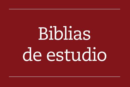 Biblias de estudio
