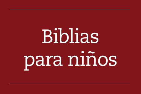 Biblias para niños