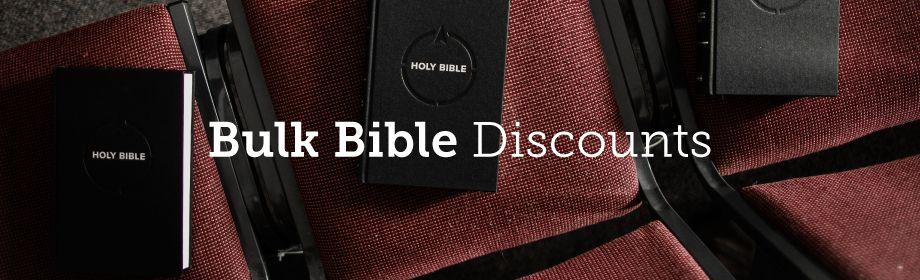 Bulk Discounts for Bibles