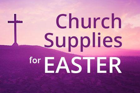 Easter Church Supplies