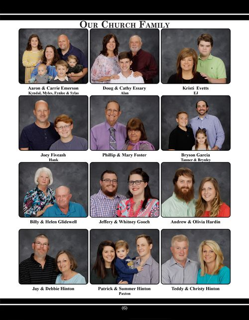 Church Directory Page