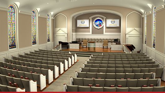 Church Renovations, Seating and Audio/Video