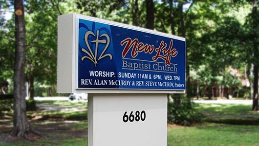 Identification Church Signs