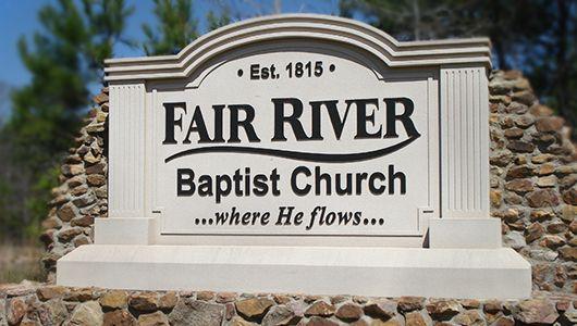 Masonry-Style Church Signs