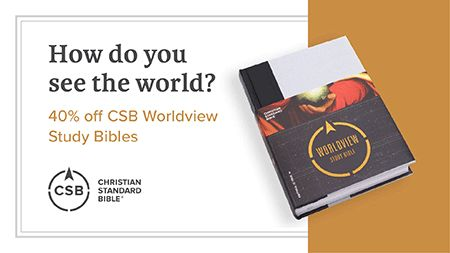 CSB Worldview Study Bible