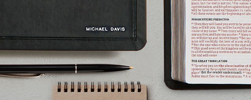Personalize a Bible for Dad