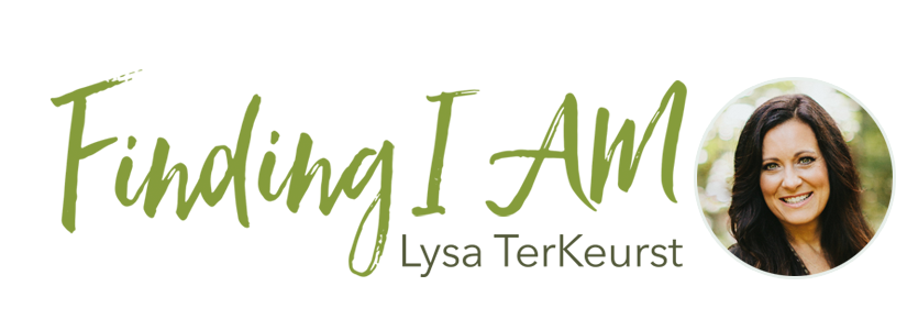 Finding I Am Lysa TerKeurst