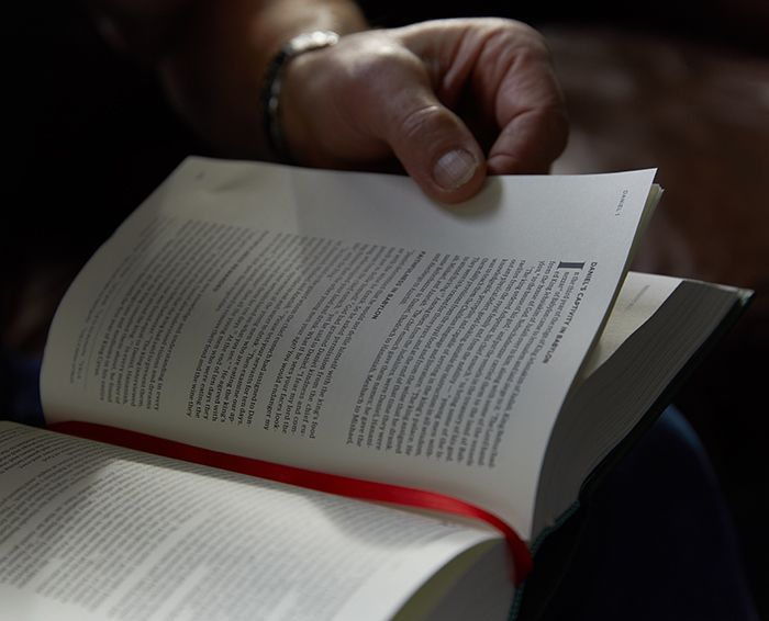 He Reads Truth Bible Interior