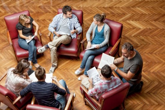 How to start a small group Bible study. Group