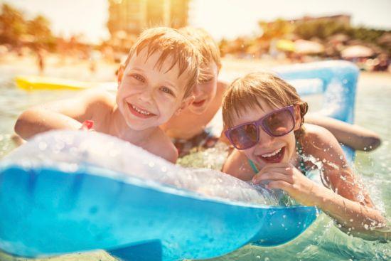 vacation, family vacation, beach