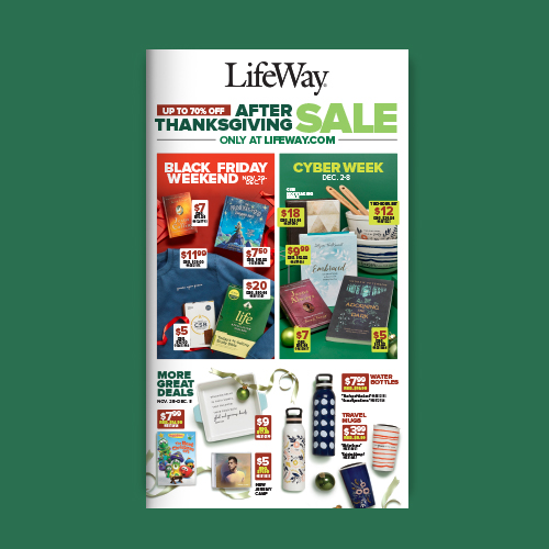 Black Friday and Cyber Week Catalog
