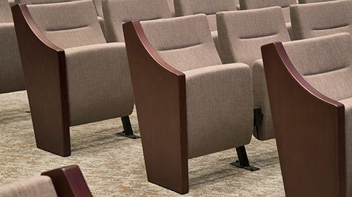 Theater Seating Close Up