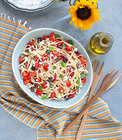 Kelly Minter Cherry Tomato and Basil Pasta