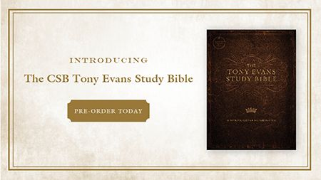 Tony Evans Study Bible Preorder