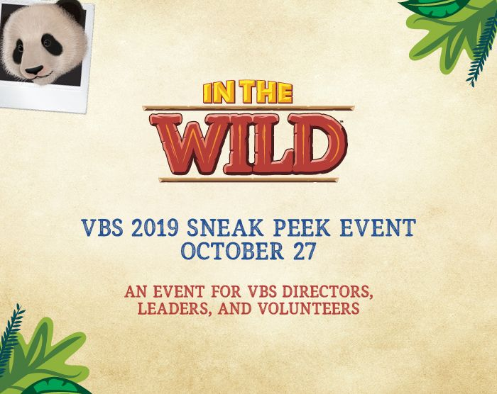 VBS 2019 Sneak Peek Event in LifeWay Stores