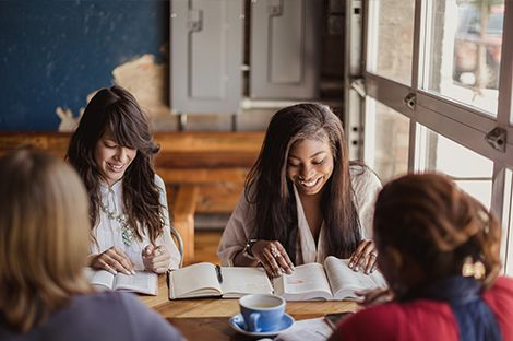 Women Studying Bible