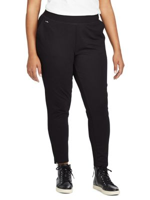 Plus Jersey Ankle Pants by Lauren Ralph Lauren