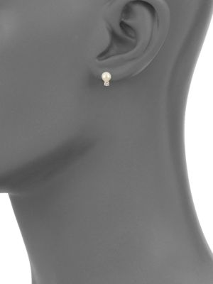 Faux Pearl Stud Earrings by Kate Spade New York