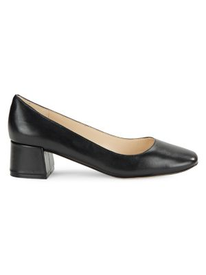 Charee Leather Pumps by Karl Lagerfeld Paris