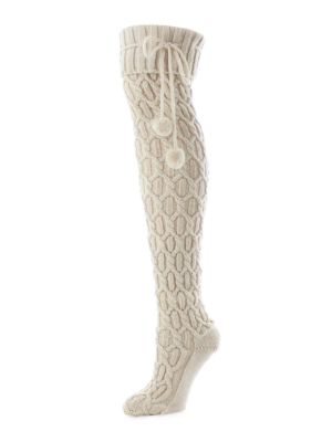 Inter Diamond Knee High Socks by Legmogue