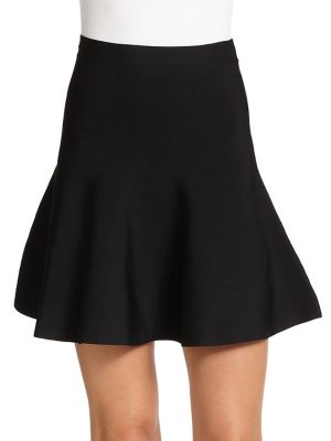 Ingrid Ponte Knit Fit & Flare Skirt by Bcbgmaxazria