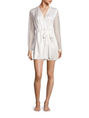 Showstopper Venise Lace Robe by Flora Nikrooz