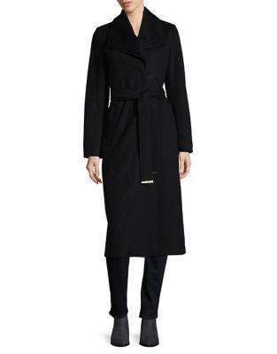 Knee Length Wrap Coat by Tahari