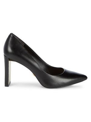 Criss Leather Pumps by Donna Karan