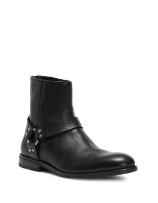 Sam Ring Strap Leather Ankle Boots by Frye