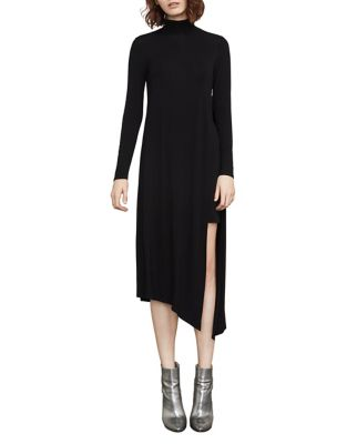 Kabrina Asymmetrical Turtleneck Dress by Bcbgmaxazria