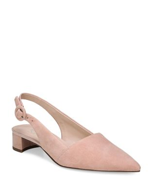 Suede Slingback Pumps by Franco Sarto