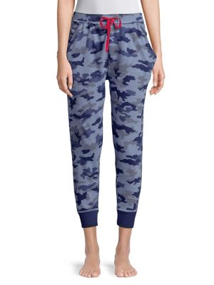 Camo Print Sleep Jogger Pants by Tommy Hilfiger