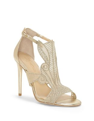 Imarti Leather Sandals by Imagine Vince Camuto