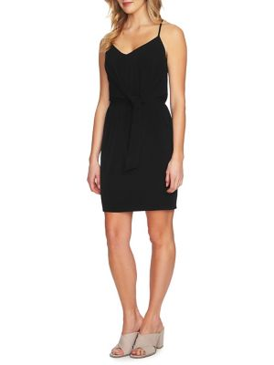 Spaghetti Strap Racerback Tie Waist Dress by 1.State
