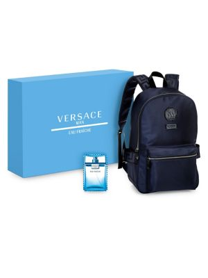 Man Eau Fraiche And Backpack Gift Set by Versace