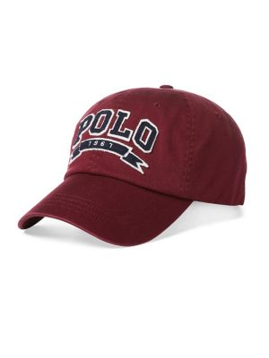 Cotton Twill Baseball Cap by Polo Ralph Lauren