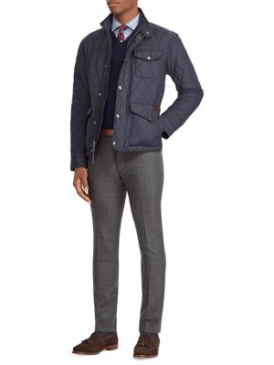 Quilted Long Sleeve Jacket by Polo Ralph Lauren